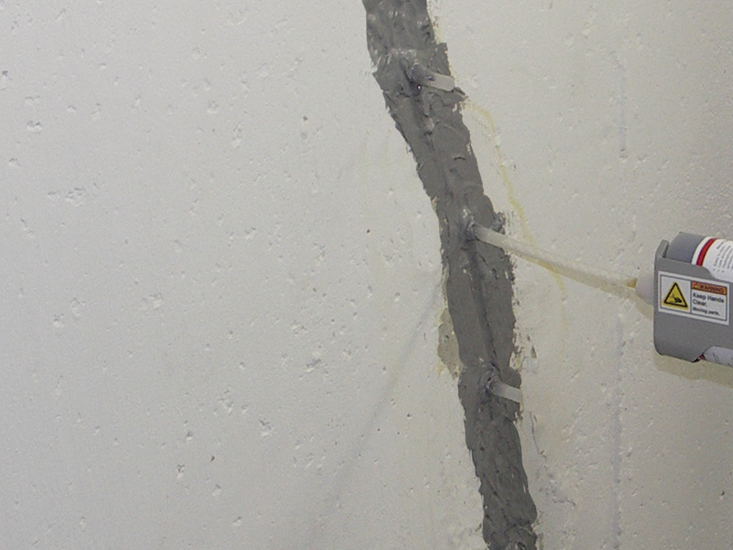 Urethane Crack Injection Am Shield Waterproofing Ny