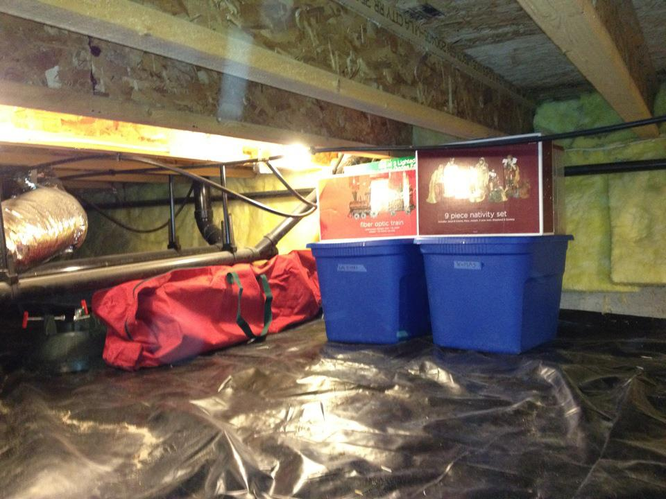 Crawl Space Waterproofing And Holiday Decorations Am