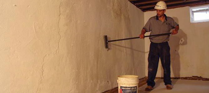 Painting A Concrete Wall Basement