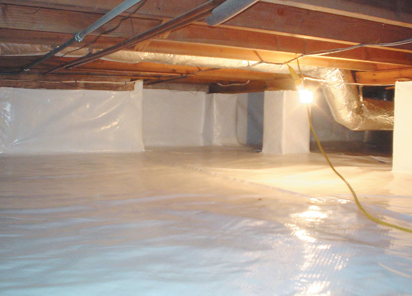 Crawl Space Waterproofing | Nassau County, NY | A.M. Shield Waterproofing Corp.