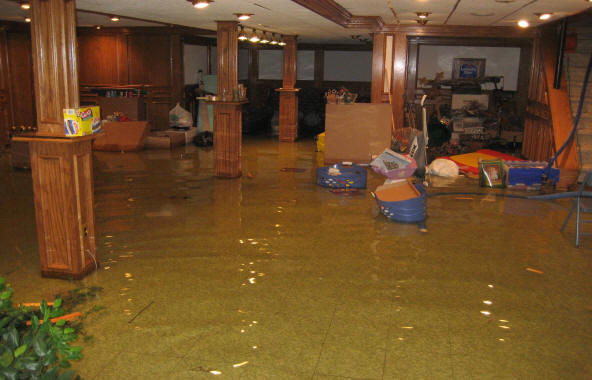 The Damage that Basement Flooding Causes