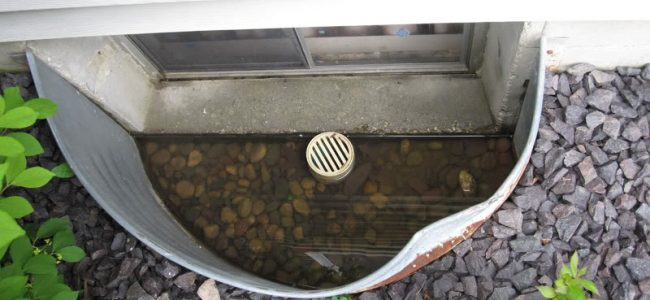 Window Well Drains for Protection against Flooding