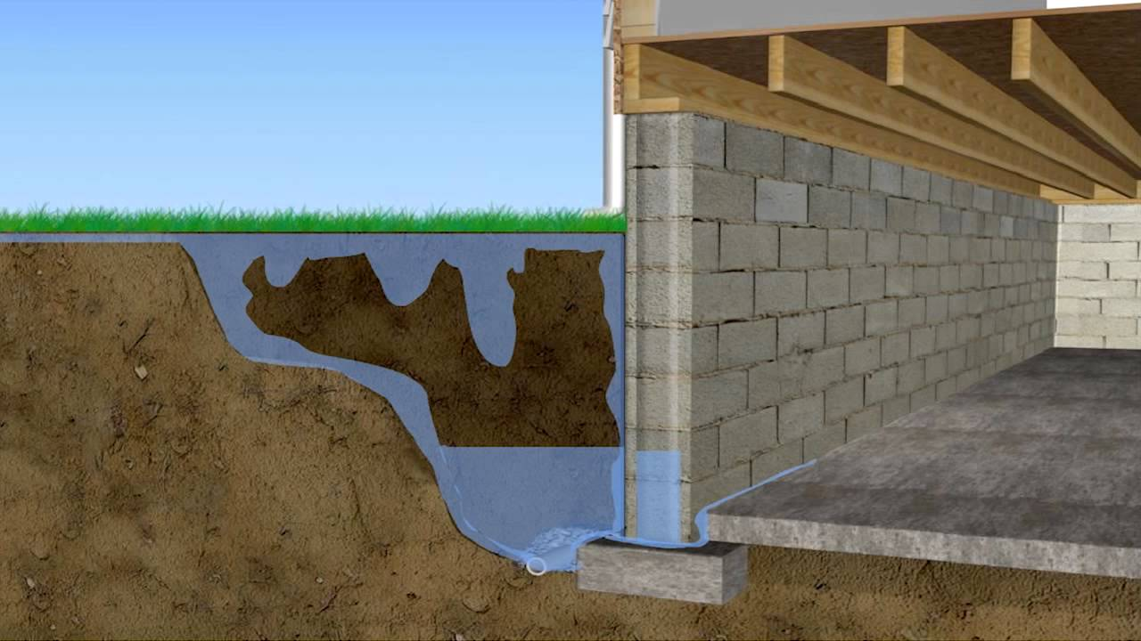 Along with the potential of mold growing in your basement or crawl space, water damage could also affect your foundation....